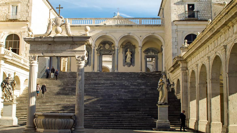Cosa vedere vicino Pastena storia e arte dell'Abbazia di Montecassino